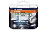 H11 OSRAM NIGHT BREAKER Unlimited H11 DUO - 55W Halogéneo