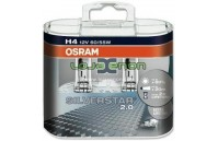 H4 OSRAM Silverstar 2.0 H4 DUO - 55W Halogéneo
