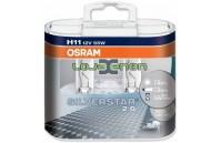 H11 OSRAM Silverstar 2.0 H11 DUO - 55W Halogéneo