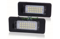 Farolins de matrícula em Led - VW Golf 6, VW Jetta, VW Passat, VW Touran
