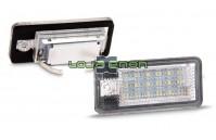 Farolins de Matrícula em Led - AUDI A3 / A4 / A6 / A8 / Q7 / RS4 / RS6