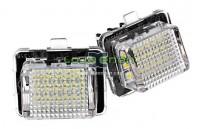 Farolins de matrícula em Led - Mercedes W204 W218 C117 W212 W166