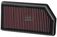 Filtro de ar K&N 33-3008 Kia e Hyundai