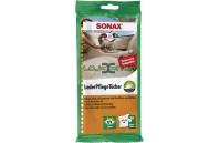 Toalhetes para Limpeza de Estofos em Pele Sonax
