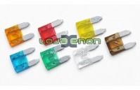 Fusível Mini tipo ficha - 5A, 10A, 15A, 20A, 25A, 30A
