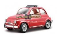 Miniatura Fiat 500L (1968) Miniatura Escala 1/24 Bburago