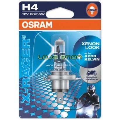 OSRAM X-Racer H4, H7, H8, H11, HS1, S2 - 4200k Halogéneo