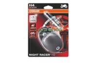 OSRAM Night Racer 110 DUO H4, H7 - Halogéneo Moto