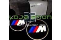 Luzes Cortesia Laser com Logotipo BMW Pack M