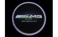 Luzes Cortesia Laser com Logotipo Mercedes AMG W169 W245 W204 W211 W212 W216 R230