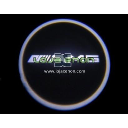 Luzes Cortesia Laser com Logotipo Mercedes AMG W176 W246 C204 W205 W212 X166