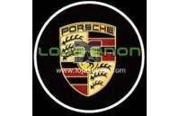 Luzes Cortesia Laser com Logotipo Porsche 911 Boxster Cayenne Cayman