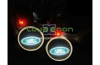 Luzes Cortesia Laser com Logotipo Land Rover