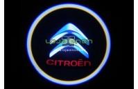 Luzes Cortesia Laser com Logotipo Citroen