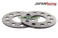 Alargadores 5x120 centro 72,6mm de 3mm, 5mm, 15mm, 20mm, 25mm Japan Racing