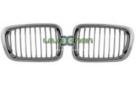 Grelhas Cromado BMW E46 Compact 1998-2005