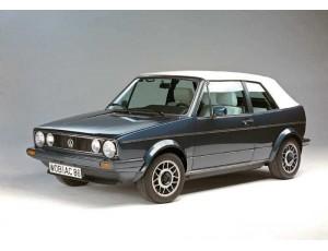 Golf I Cabrio - 1979 a 1993