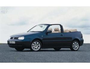 Golf IV Cabrio - 1998 a 2002