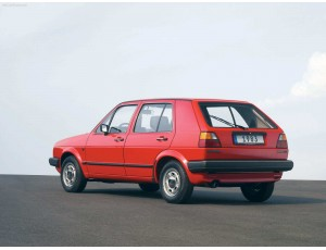 VW Golf II (08.1983 - 12.1992)