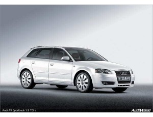 Audi A3 8P Sportback (desde 2004)