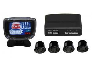 Aviso Sonoro e Monitor LCD